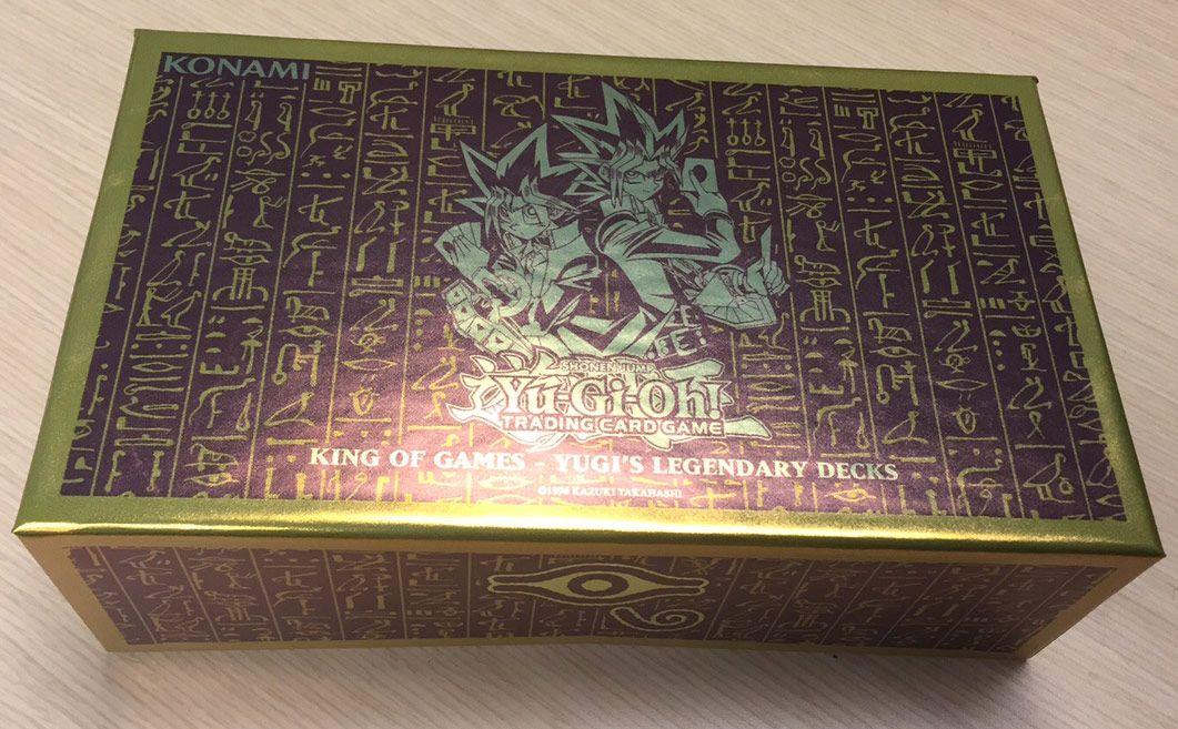 Deck Légendaire Yugi Roi des Jeux