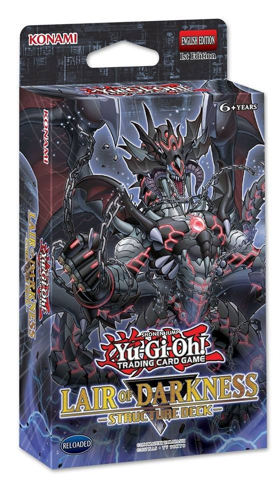 Planning des sorties Yu-Gi-Oh 2018
