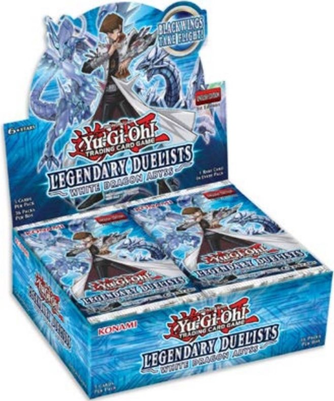 Pack du Duelliste Les Duellistes Légendaires 3 Abysse Dragon Blanc